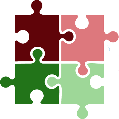 puzzle pieces graphic