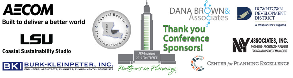 2019 State Planning Conference Sponsors