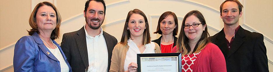Student Achievement Award 2015