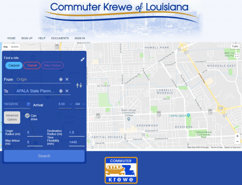 Ride Pro Website screenshot