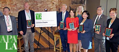 partners in planning award recipients