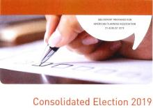 cover of elections result report