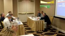 Panelists lead a discussion at the 2015 Annual Planning Conference