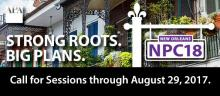 NPC18 Call for Sessions