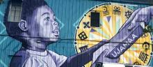 mural in a New Orleans Qualified Opportunity Zone