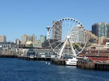 Photo of downtown Seattle by Brigette Bernal