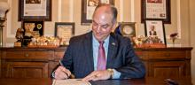 Governor John Bel Edwards signs proclamation