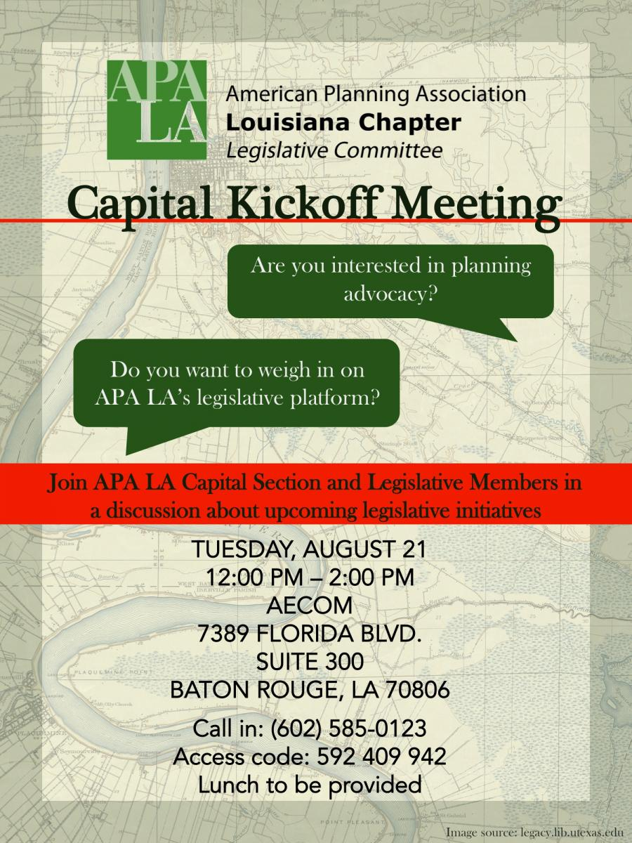 flyer - Capital Kickoff lunch-n-learn