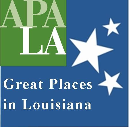 logo for Great Places in Louisiana award competition