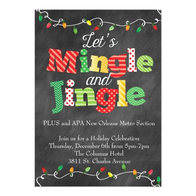 Mingle & Jingle flyer