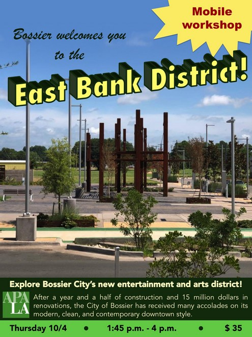 Bossier City - East Bank Mobile Tour