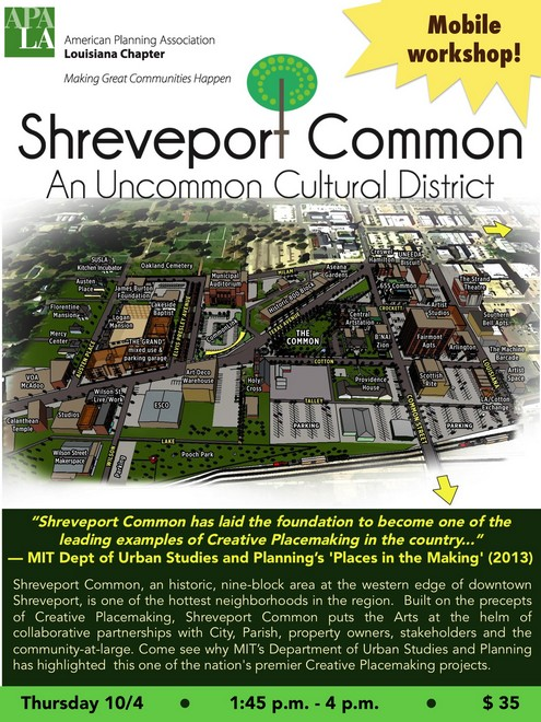 Shreveport Common Mobile Tour